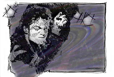 Icons - Michael Jackson Poster by Jerrett Dornbusch