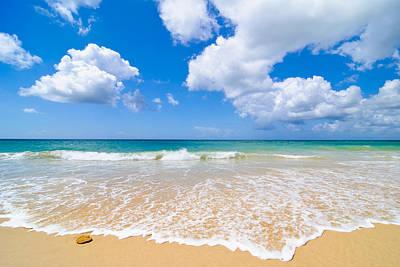 Idyllic Summer Beach Algarve Portugal Poster by Amanda And Christopher Elwell