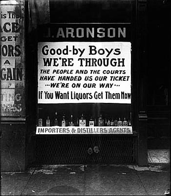 If You Want Liquors Get Them Now Poster by Bill Cannon