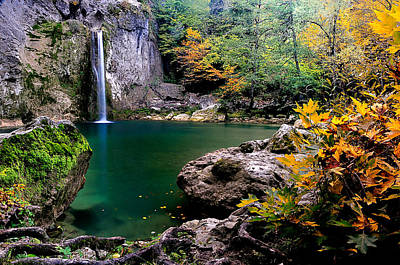 Ilica Waterfall - 2 Poster by Okan YILMAZ