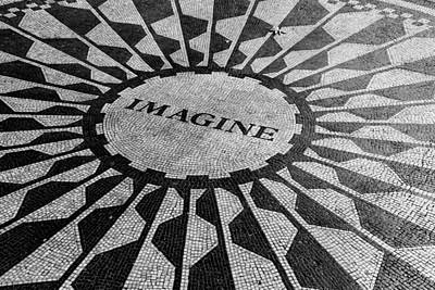 Imagine-a Tribute To John Lennon Poster by Allen Beatty