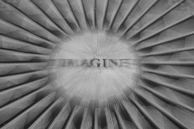 Imagine Zoom Poster by Garry Gay