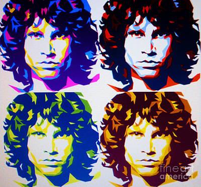 Immortal Jim Morrison Poster by Ryszard Sleczka
