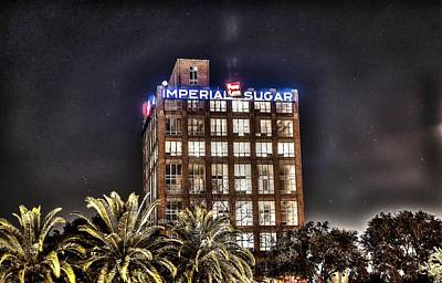 Imperial Sugar Mill Poster by David Morefield