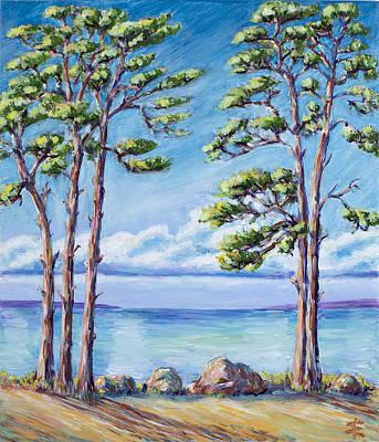 Impressionism Landscape Painting Poster by Erki Schotter