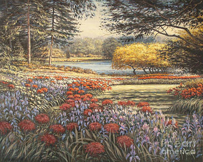 In A Garden Poster by Pierre Morin