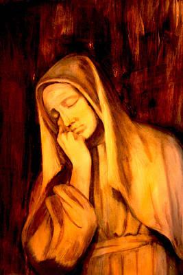 In Prayer Poster by Giorgio Tuscani