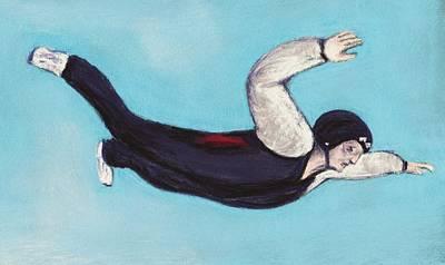 In The Air Poster by Anastasiya Malakhova