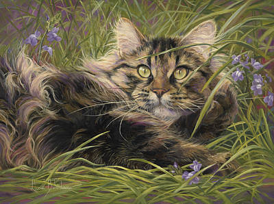 In The Grass Poster by Lucie Bilodeau
