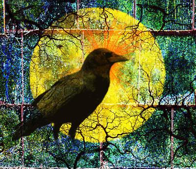 In The Night Poster by Nancy Merkle