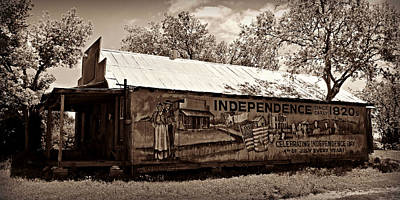 Independence -- Sepia Poster by Stephen Stookey