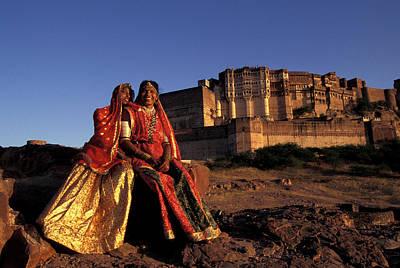 India, Jodpur, Rajasthan, Meherangarh Poster by Claudia Adams