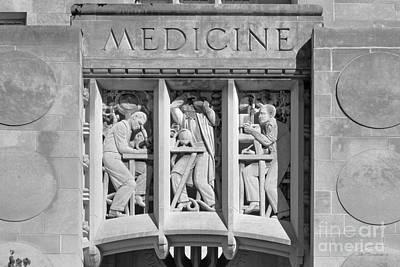 Indiana University Myers Hall Medicine Poster by University Icons