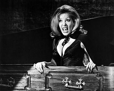 Ingrid Pitt In The House That Dripped Blood  Poster by Silver Screen