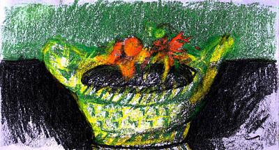 Inherited Planter Poster by Anita Dale Livaditis