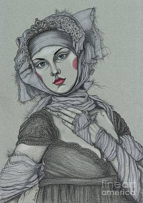 Inspiration-valentino Couture Poster by Snezana Kragulj