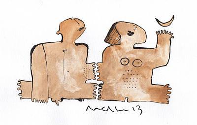 Instar No.1  Poster by Mark M  Mellon