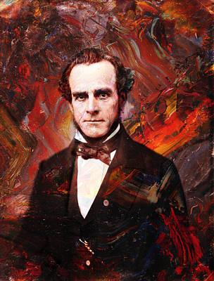 Intense Fellow 2 Poster by James W Johnson