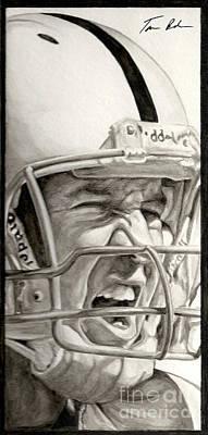 Intensity Peyton Manning Poster by Tamir Barkan
