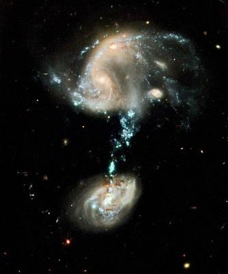 Interacting Galaxies Arp 194 Poster by Nasa/esa/hubble Heritage Team (stsci/aura)