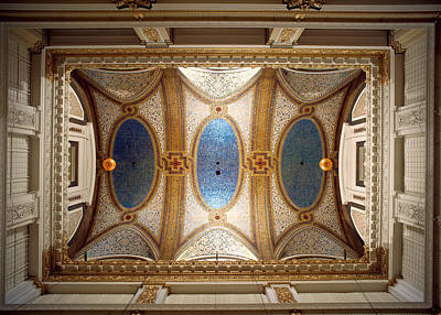 Interiors Of The Marshall Field And Poster by Panoramic Images