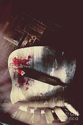 Internal Interrogation Poster by Jorgo Photography - Wall Art Gallery