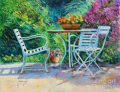 Invitation To The Garden Poster by Jean-Marc Janiaczyk