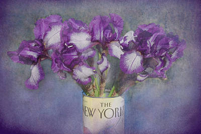 Iris In The New Yorker Poster by Jeff Burgess