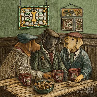 Irish Coffee Poster by Kathleen Harte Gilsenan