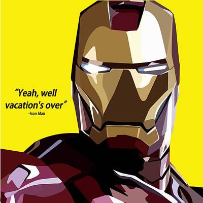 Ironman Poster by Aura Art