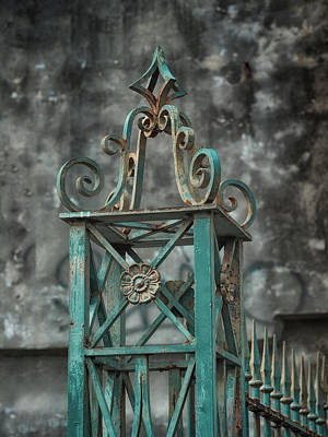Ironwork In The Quarter Poster by Brenda Bryant