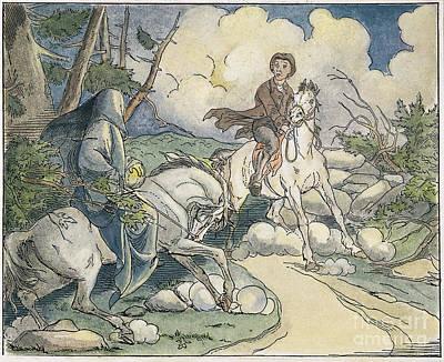 Irving: Sleepy Hollow, 1849 Poster by Granger