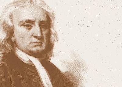Isaac Newton Poster by Detlev Van Ravenswaay