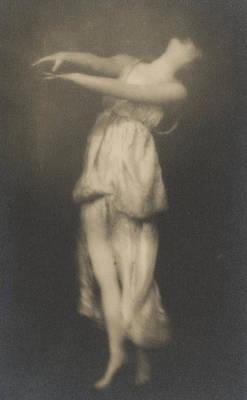 Isadora Duncan   Dancer Poster by Arnold Genthe