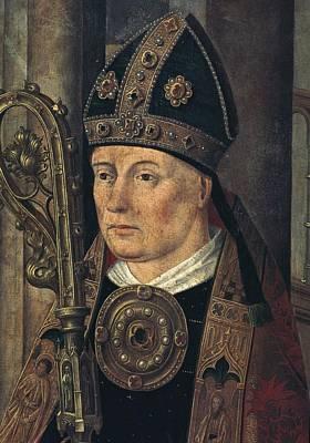 Isidore Of Sevilla, Saint 560-636 Poster by Everett
