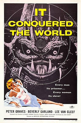 It Conquered The World Poster by MMG Archives