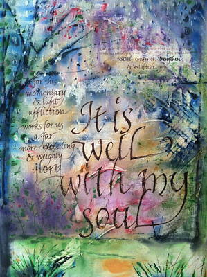 It Is Well Poster by Keli Lydell