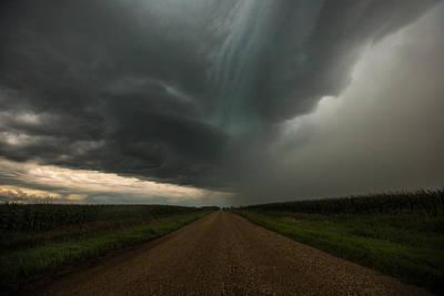 It Looks Like Rain... Poster by Aaron J Groen