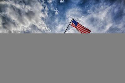 Iwo Jima Memorial Poster by Susan Candelario