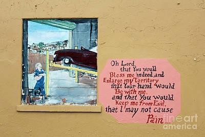Jabez Window Poster by Joe Jake Pratt