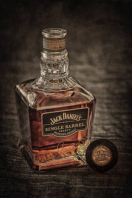 Jack Daniel's Single Barrel Poster by Erik Brede