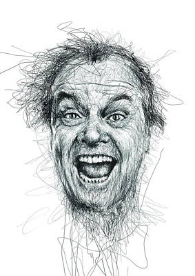 Jack Nicholson  Poster by Vince Low