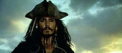 Jack Sparrow Poster by Jack Hood