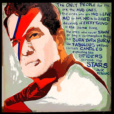 Jack Stardust Poster by Renee Reeser Zelnick