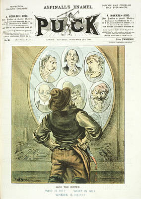 Jack The Ripper Suspects Poster by British Library