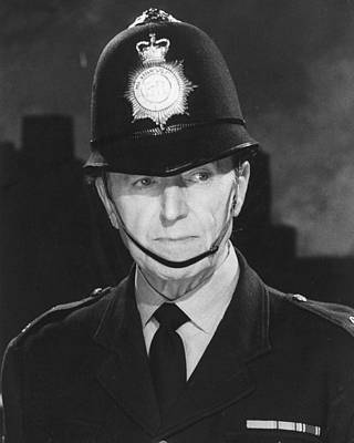 Jack Warner In Dixon Of Dock Green  Poster by Silver Screen