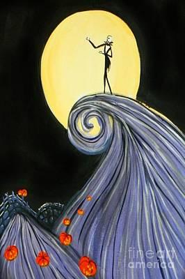 Jack's Lament Poster by Marisela Mungia