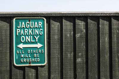 Jaguar Car Park Poster by Joana Kruse