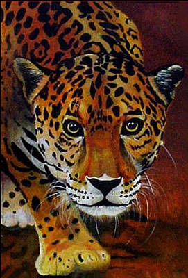 Jaguar Poster by Joe  Leyba