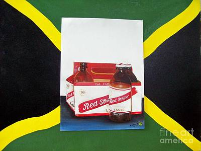 Jamaica National Beer Poster by Kenneth Harris